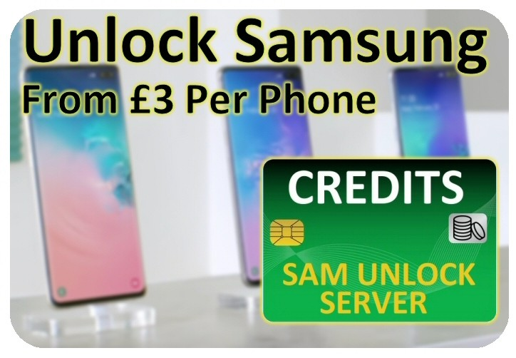 SAM UNLOCK SERVER – BIG UPDATE